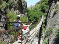 puentes colgantes de Los Cahorros