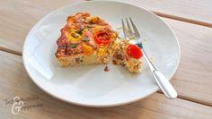Pohjaton piirakka sopii gluteenittomaan ruokavalioon. Copyright: Tiina Varjus. Quiche, French Toast, Eggs, Keto, Snacks, Baking, Breakfast, Food, Kitchen