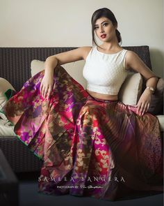 Indian Skirt, Indian Dresses, Lehenga Designs, Saree Blouse Designs, Indian Attire, Indian Ethnic Wear, Indian Wedding Outfits, Indian Outfits, Indian Designer Outfits