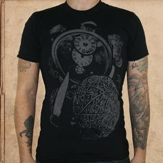 Image of To Kill a Mockingbird - 50/50 discharge ink - unisex only S  left
