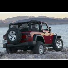 Jeep Wrangler, make this a four door jeep rubicon with a hard top and I'm sold;)