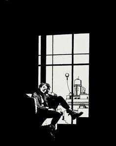 Jaime Hernandez (Love and Rockets) Black And White Comics, Black And White Artwork, Black And White Illustration, Black And White Drawing, Black White, Ink Illustrations, Digital Illustration, Watercolor Illustration, Comic Books Art
