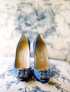 blue blahniks like Carrie Bradshaw (my something blue for SOMEDAY)