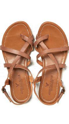 Tendance Chaussures Criss cross sandals Follow me Greys Garcia