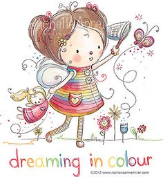 Dreaming in Colour by Rachelle Anne Miller, via Flickr