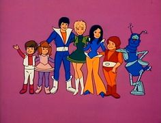 the partridge family cartoon | image: the Partridge Family 2200 A.D.