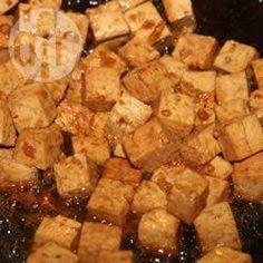 Foto de la receta: Tofu con jengibre y ajo
