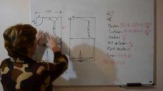 Modelagem da base da blusa - Aula 39