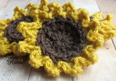It's sunflower season, and we're celebrating with seven cheery free patterns.