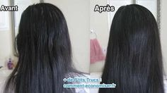 Thanks to this natural and easy to make recipe, your hair will find . Quick Hair Growth, Cheveux Ternes, Hair Loss Cure, Natural Hair Styles, Long Hair Styles, Hair Regrowth, Quick Hairstyles, Food To Make, Your Hair