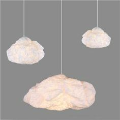 Cloud Suspension Lamp By Hive - Hive - Home Furnishings - Unica Home Teen Room Decor, Room Ideas Bedroom, Dream Bedroom, Bedroom Decor, Krusning Ikea, Cloud Lamp, Plug In Pendant Light, 5th Birthday Party Ideas, Cloud Lights
