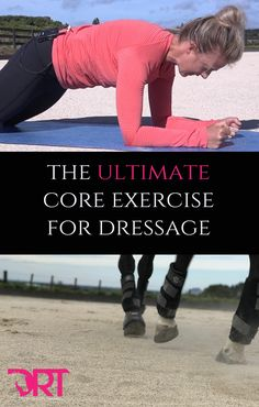 Exercise the ultimate core exercise for dressage riders - Core strength is vital for dressage riders to remain balanced and connected. Horse Riding Tips, Trail Riding, Horse Exercises, Dressage Horses, Draft Horses, Horse Training, Training Tips, Horseback Riding, Excercise