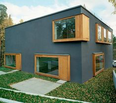 Contemporary Scandinavian Architecture – Four Rooms Make an Innovative House Plan | Modern House Designs