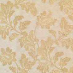 299-6325 Dark Blue Scroll Silhouette - Magdalena - Beacon House Wallpaper