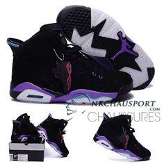 nike air jordan 6 classique chaussure de basket homme noir 7