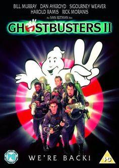 Hayalet Avcilari 2 - Ghostbusters II - 1989 - DVDRip Film Afis Movie Poster