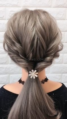 girls like low ponytail hairstyles, easy to learn Young girls like low ponytail hairstyles, easy to learn Beauty iDeas ?Young girls like low ponytail hairstyles, easy to learn Beauty iDeas ? Low Ponytail Hairstyles, Easy Wedding Hairstyles, Low Ponytails, Wedding Ponytail, Wedding Braids, Hair Wedding, Wedding Makeup, Hair Upstyles, Hair Videos