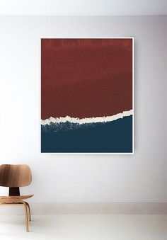 Printable Red and Blue Art Print. Navy Art Print. Abstract Art. Dark Blue and Red Wall Art. Red White and Blue Prints. Navy Print. Instant Digital Downloads and Art Prints are Also Available with Free Shipping! /// The Peoples Prints Shop @ www.etsy