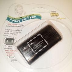 Phone Battery AT&T Panasonic Motorola V-Tech Sony Toshiba 2.4V 1500 mAh NiMH #Jasco #eBay #Auction #Sale #Wholesale #Products #battery