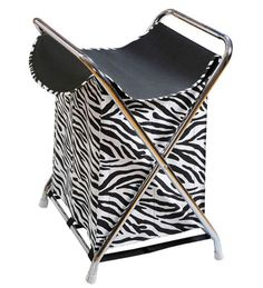 Get back to the nature and show your love towards wildlife with this zebra print laundry bag! Very contemporary in nature, it will keep your laundry in a neat and organized manner. Also, its water proof functionality helps you in storing stuff neatly.