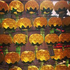 "@Graham Budd's photo: ""Golden lanterns. #seoul #lantern #festival, #insadong. #light #shade #sun #sky #korea #visitkorea #southkorea #한국 #epik"""