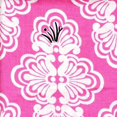 """Just like the clothes, the word """"Lilly"""" is hidden in every fabric pattern of the Lee Jofa collection; """"Shell We"""" Lilly Pulitzer Lee Jofa-"""