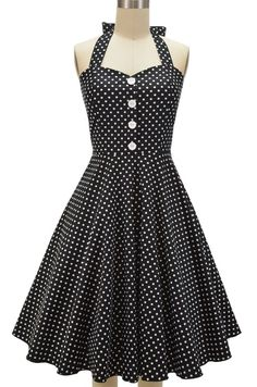 Just restocked at Le Bomb Shop! Our Miss Mabel Sweetheart Sun Dress in Black Polka Dots! Only $36 with FAST & Free U.S. Shipping! Buy it here http://lebombshop.net/products/miss-mabel-sweetheart-sun-dress-black-polka-dots Also available in other polka dot colors and florals here: http://bit.ly/1piGBKN