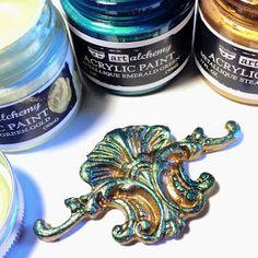 FRIENDS in ART: Creating Decorative Embellishments