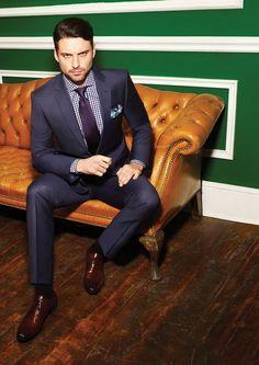 Men's suit.