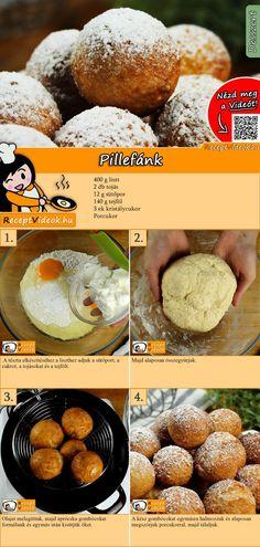Pillefánk recept elkészítése videóval