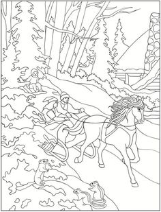 Christmas Around the World Coloring Book by Dover Publications ...