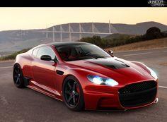 Aston Martin DBS Street   Photoshop Tuning