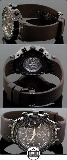JOE RODEO 0119M2X2KEZ - Reloj para hombres, correa de goma color negro  ✿ Relojes para hombre - (Lujo) ✿