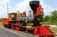 """Wonderful """"Early Day"""" Locomotive ... This one has be fully restored ..."""