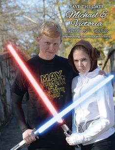"""May the Fourth """"Save the Date"""""""