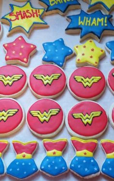 Wonder women cookies