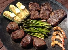 Steak and Shrimp done the easy way on the Twok Grill. Get grilling at http://www.Twokgrill.com