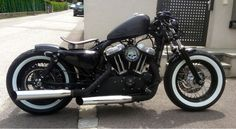 Sportster 48. (...so sick. I love those tires.~)