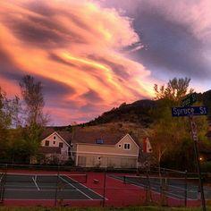 Art **Wow** Serious Sunset In #Boulder #Colorado cool-onlyinboulder-nature-pics