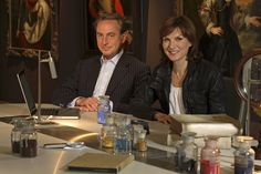 Fiona Bruce and Philip Mould, Fake or Fortune, BBC