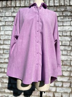 Online Thrift, Collection Services, Fabric Covered, Good Old, Slow Fashion, Corduroy, Lilac, Zara, Boutique