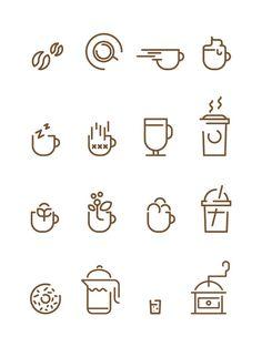 Coffee Icon Icons from GraphicRiver - Coffee Icon - Ideas of Coffee Icon - Ganoderma Black Coffee Ganoderma Coffee Coffee Icon Ideas of Coffee Icon Coffee Icons Francesco Lucchiari in Icons Symbols & Pictograms Coffee Shop Logo, Coffee Branding, Web Design, Icon Design, Coffee Symbol, Coffee Icon, Coffee Coffee, Black Coffee, Coffee Type