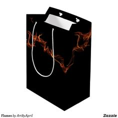 Flames Medium Gift Bag