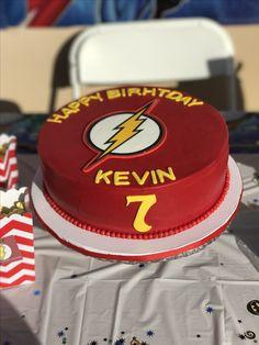 Flash birthday cake