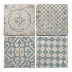 IB LAURSEN Fliesen Muster Grün 4er-Set ähnliche tolle Projekte und Ideen wie im Bild vorgestellt findest du auch in unserem Magazin