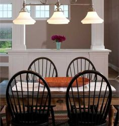 Exquisite Classic Dining Room Wooden Table With Concrete Top Traditional Wooden Chairs Shingle Style New England Home