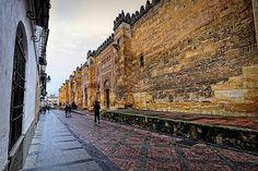 La fachada oriental de la Mezquita de Córdoba | por Abariltur
