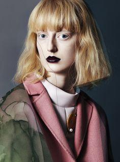 Charlie Bredal, Mari Nylander, Laura Hagested, Luna Schulze, Frederikke Sofie by Léa Nielsen for Vogue.it February 2015 7