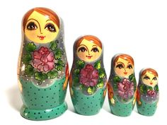 A personal favorite from my Etsy shop https://www.etsy.com/listing/218012355/vintage-wooden-russian-nesting-doll