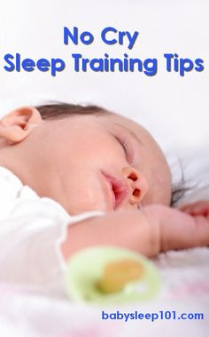 Interested in a no-cry sleep training method? Read these important tips before you start. Also, visit http://www.babysleep101.com to download our FREE sleep guide.